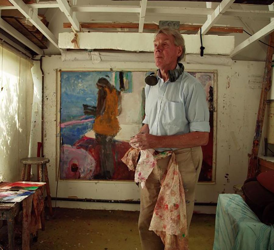 Blind Painter Sargy Mann
